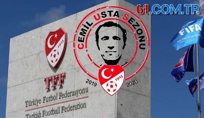 TFF resmen açıkladı! 2019-2020 Cemil Usta Sezonu oldu!