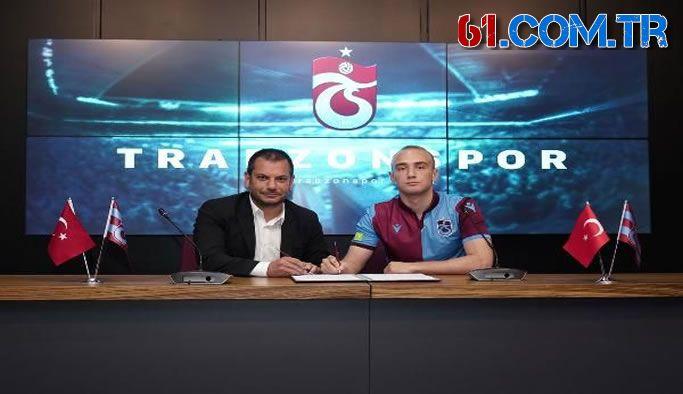 Trabzonspor, Doğan Erdoğan ile 3+1 yıllık sözleşme imzaladı.