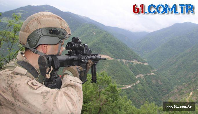 Maçka'da  PKK'nın deposu bulundu!