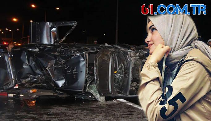 Trabzon'da kaza genç kız hayatını kaybetti 4 yaralı