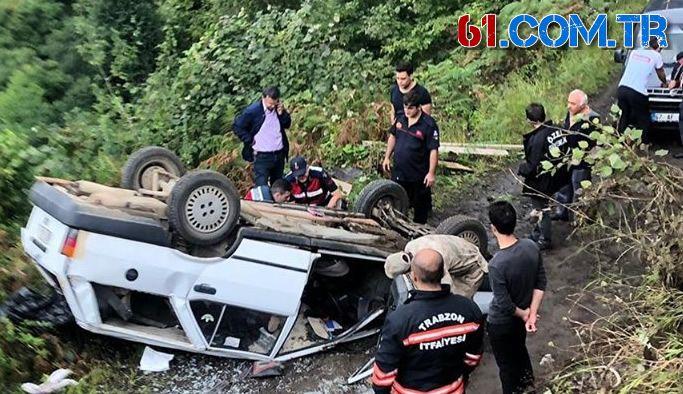 Beşikdüzü Çakırlı'da kaza 1 ölü 1 yaralı