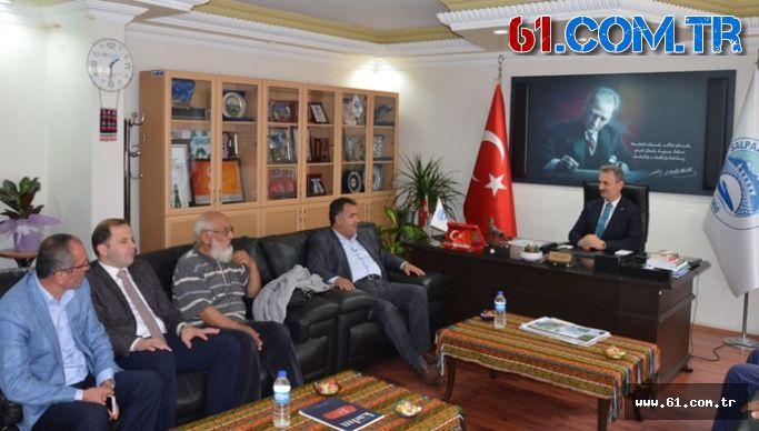 TİSKİ Başkanı Şalpazarı Muhtarlarıyla Toplantı Yaptı
