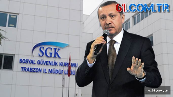 Trabzon'da Cumhurbaşkanı Erdoğan'ın SGK verilerini inceleyen memurlara hapis