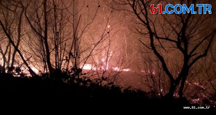 Yangınları Terör örgütü üstlendi!