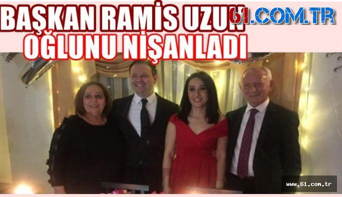 Başkan Ramis Uzun Oğlunu Nişanladı