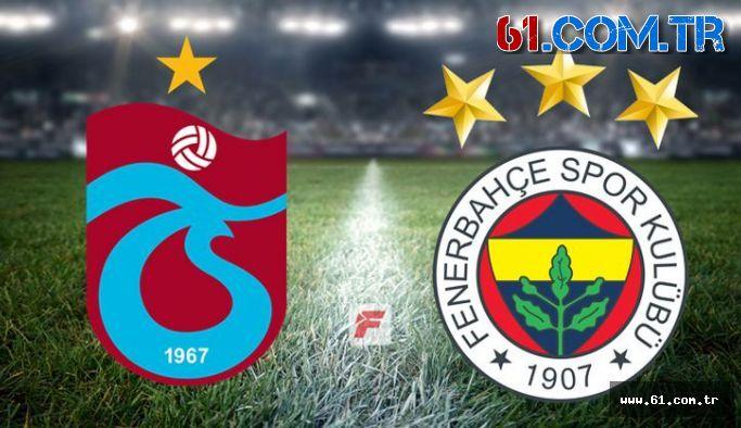 Trabzonspor Fenerbahçe'yi 2-1 yenerek Kadıköy'e puansız gönderdi!