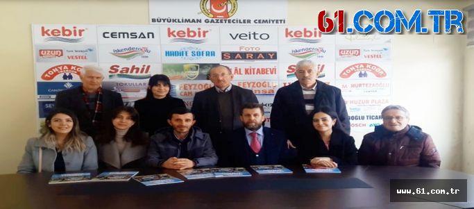 Yeşilay'dan Büyükliman Gazeteciler Cemiyeti'ni Ziyaret