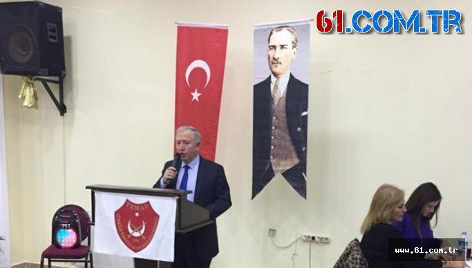 TEMAD Trabzon İl Başkanlığından Basın Açıklaması