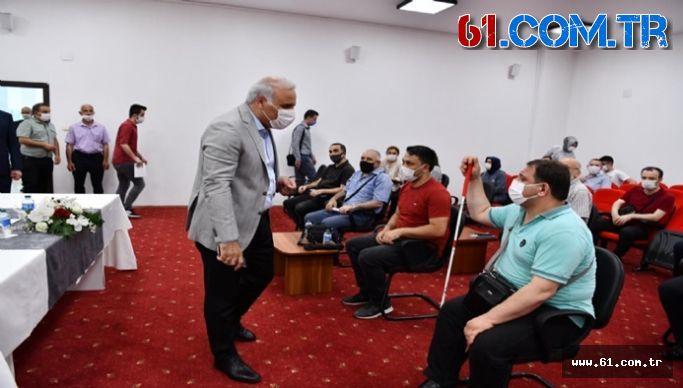 Başkan Zorluoğlu'dan Engellilere Müjde