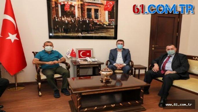 Başkan Balta'dan Vali Sonel'e Hayırlı Olsun Ziyareti