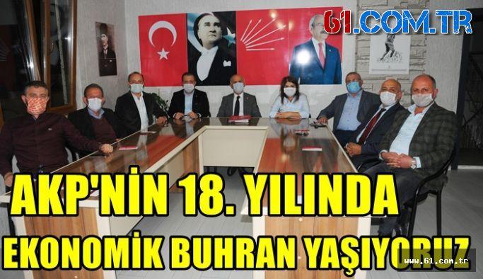 Vakfıkebir CHP İlçe Başkanı Keskin'den AKP'ye Veryansın