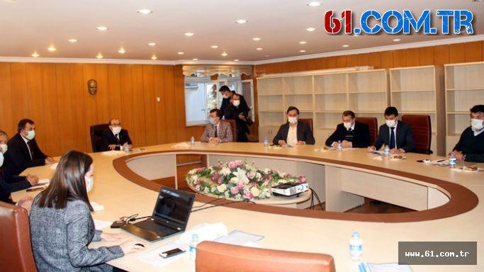 Vakfıkebir OSB Müteşebbis Heyeti toplantısı yapıldı