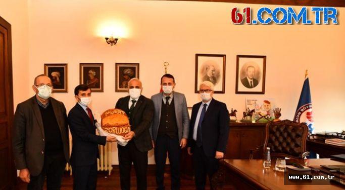 BGC'den Başkan Murat  Zorluoğlu'na Ziyaret''