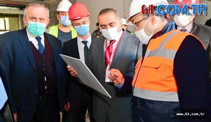 Vali İsmail Ustaoğlu Of'ta Yapılan Kamu Yatırımlarını İnceledi