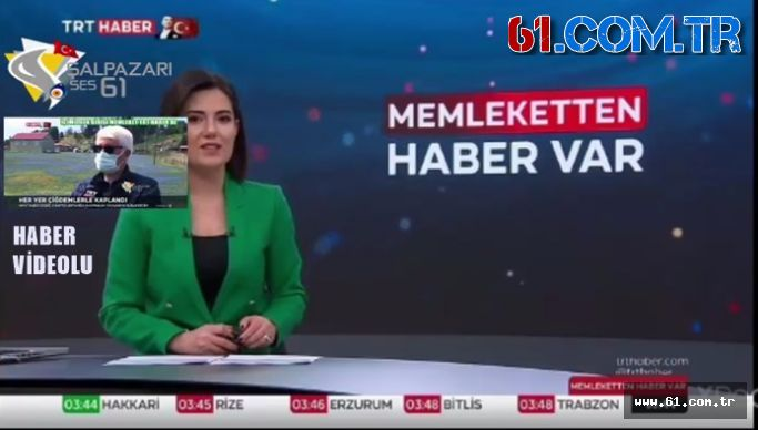İÇİMİZDEN BİRİSİ ALP  MEMLEKET TRT HABER DE
