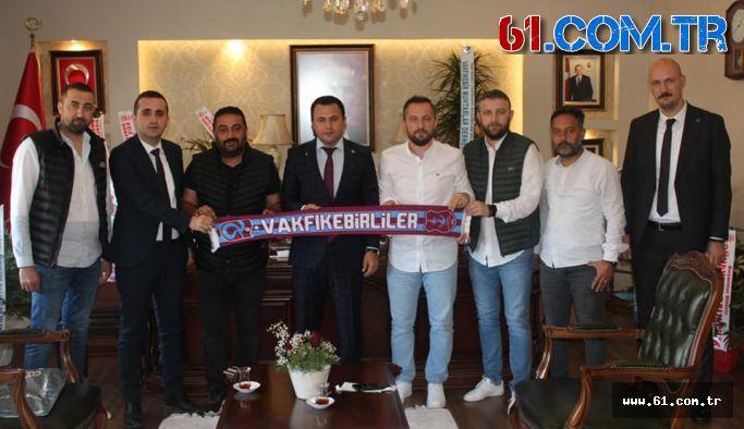 Vakfıkebir Trabzonsporlular Derneğinden Kaymakam Dr. Uzan'a Ziyaret