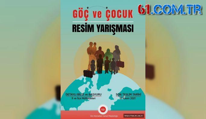 """GÖÇ VE ÇOCUK"""" İLE İLGİLİ RESİM YARIŞMASI"""