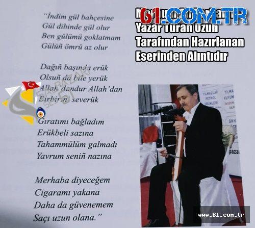 YÖRESEL SANATÇI ALİ TARHAN'DA COVİD-19'A YENİLDİ