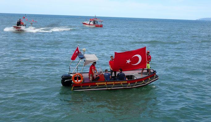 Balıkçılar yarıştı