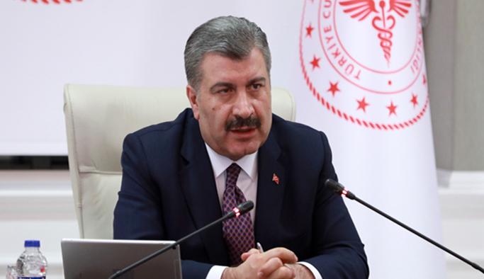 ''Sağlık Bakanı Fahrettin Koca, 81 İl Sağlık Müdürüyle Telekonferansla Görüştü''