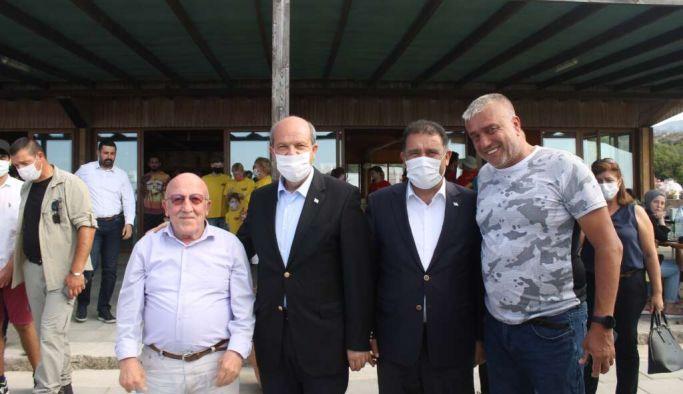 Trabzon Çaykaralı Kıbrıs Esentepe Belediye Başkanı Cemal Erdoğan'ın da katıldığı etkinlik