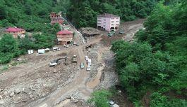 Araklı'da Selin vurduğu mahalle boşaltılıyor!
