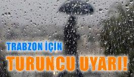 Kuvvetli sağanak için 'turuncu' uyarı! 29.06.2019 Cumartesi