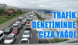 Trabzon'da Trafik Ekipleri Kural İhlali Yapan Sürücülere Ceza Yağdırdı