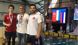 Uluslararası Madalyamız Derin Toparlak'tan geldi