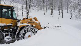 Şalpazarı'nda Kar Yağışı Etkisini Sürdürüyor