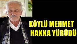 Köylü Mehmet Hakka Yürüdü