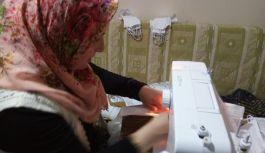 Şalpazarı'nda Maske Üretimi Başladı