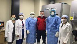 Trabzon'da ikinci Covit  Laboratuvarı Açıldı