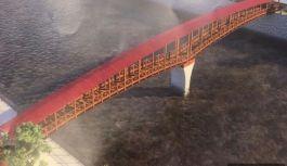 Solaklı'ya  Kapalı  Yaya Köprüsü