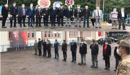 Şalpazarı'nda 19 Eylül 2020 Gaziler Günü Kutlandı.