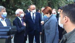 Başkan Uzun Doğankent'te Akşener'i Karşılama Programına Katıldı
