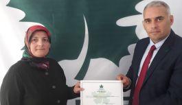 Gelecek Trabzon'da Kadın Kolları Başkanlığına Hatice Birinci atandı!