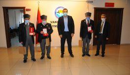 Kıbrıs Gazileri için Madalya ve Berat tevcih Töreni Düzenlendi