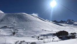 Haldızen yaylasında Dağ Kayağı Türkiye Şampiyonası başladı
