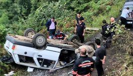 Beşikdüzü Çakırlı'da kaza 1 ölü...