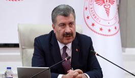 ''Sağlık Bakanı Fahrettin Koca,...