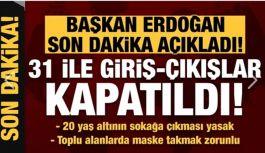''Trabzon Dahil 31 İl'e...