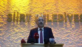 Siirt Belediyesine Hemşehrimiz Vali Atik...