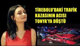TİREBOLU'DAKİ TRAFİK KAZASININ ACISI...