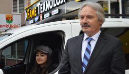 Kurt Amasya'nın İlk Kadın Şoförünü...