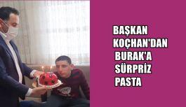 BAŞKAN KOÇHAN'DAN BURAK'A SÜRPRİZ...