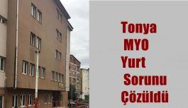 Tonya MYO Yurt Sorunu Çözüldü