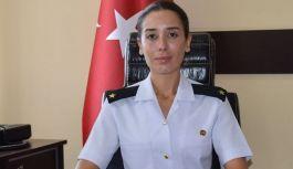 Gülsüm Jandarma Komutanı Göreve Başladı