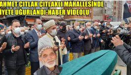 Hacı Ahmet Çıtlak Çıtlaklı Mahallesinde...