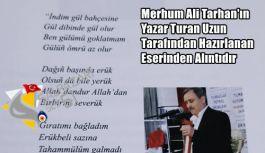 YÖRESEL SANATÇI ALİ TARHAN'DA COVİD-19'A...